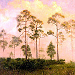 Albert Ernest Backus - gentle breezes morning mist