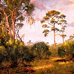 Albert Ernest Backus - gentle breezes high country pines