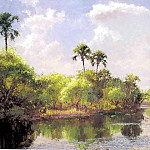 Albert Ernest Backus - gentle breezes island waterway