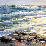 Albert Ernest Backus - gentle breezes ocean at blowing rocks
