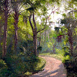 Albert Ernest Backus - gentle breezes back woods road
