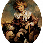 Jacques Emile Blanche - Portrait Of Antonin De Mun As A Young Boy