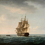Thomas Buttersworth - Rescue of the Guardians Crew by a French Merchant Ship 2nd January 1790