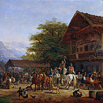 Gustave Adolf Hippius - Tyrolean fair