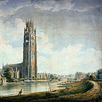 Джон Баклер - Boston Stump: вид с юго-запада