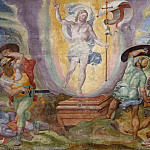Musei Vaticani - fresco - The Resurrection of Christ