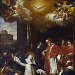 St Catherine Trying to persuade the Pope to move from Avignon to Rome
