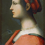 Brescianino (Andrea Piccinelli) - Portrait of a Young Woman as Saint Catherine