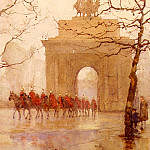 Rose Maynard Barton - Hyde Park Corner With Household Cavalry