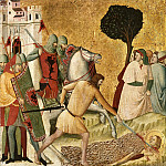Gentile da Fabriano - Scenes from the Life of Saint Columba of Sens - Martyrdom of Saint Columba
