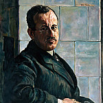 Max Liebermann - Portrat Georg Hermann