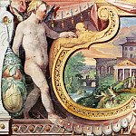Musei Vaticani - fresco - Judas Thaddeus Heals King Abgar with the Mandylion