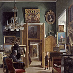 Interior of the Painter's Home in Stockholm