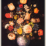 Ambrosius II Bosschaert - The Elder- Large Bouquet