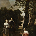 A Couple and a Shepherdess in a Landscape [Attributed]