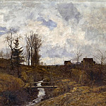 Leopold von Kalckreuth - After the Rain