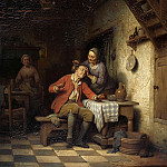 Ferdinand de Braekeleer I - Haircut old man