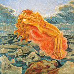 Umberto Boccioni - Dream (or Paolo and Francesca)