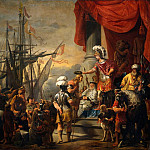 Ferdinand Bol - Aeneas at the Court of Latinus
