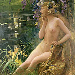 Juventa, Water Nymph, Gaston Bussière