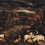 Jacopo Bassano - Garden Of Eden