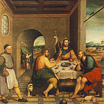 Jacopo Bassano - Bassano,J. Supper at Emmaus, ca 1538, 235x250 cm, Chiesa