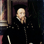 Portrait of William Cecil, 1st Baron Burghley Lord High Treasurer