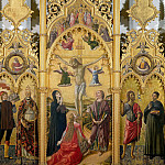 Domenico di Michelino - Triptych from San Venanzio in Camerino