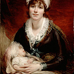Benjamin West - Lady Beechey and her Baby