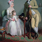 Sir Henry William Beechey - Mr and Mrs Custance of Norwich and their Daughter Frances