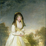 Sir Henry William Beechey - Portrait of Queen Charlotte (1744-1818), wife of King George III