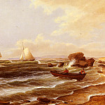 Thomas Birch - Birch Thomas Going Ashore