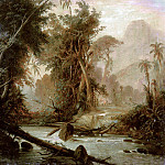 Ferdinand Bellermann - A Tropical Forest In Venezuela