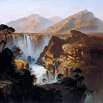 Friedrich Gauermann - Waterfall in the Andes of Venezuela