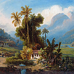 Ferdinand Bellermann - Sugarcane Plantation of San Esteban near Puerto Cabello, Venezuela