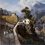 Julius Jacob - Street in La Guaira, Venezuela