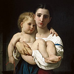 Adolphe William Bouguereau - The Elder Sister