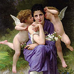 Songs of Spring, Adolphe William Bouguereau