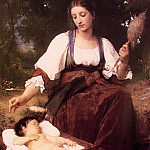 Lullaby, Adolphe William Bouguereau