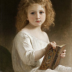Adolphe William Bouguereau - The Story Book