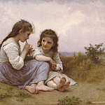 Child´s Idylle, Adolphe William Bouguereau