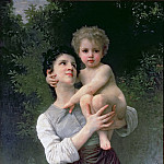 Adolphe William Bouguereau - Mother and Child