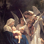Adolphe William Bouguereau - Song of the Angels