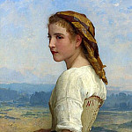Gleaner, Adolphe William Bouguereau