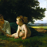 Adolphe William Bouguereau - Temptation