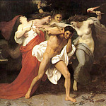 Adolphe William Bouguereau - Orestes Pursued by the Furies