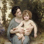 The young brother, Adolphe William Bouguereau