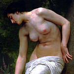 Adolphe William Bouguereau - After the bath