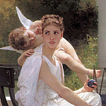 Adolphe William Bouguereau - Work Interrupted