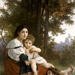 The rest, Adolphe William Bouguereau